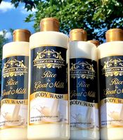 Rice and Goat Milk Exfoliating Body Wash 500g